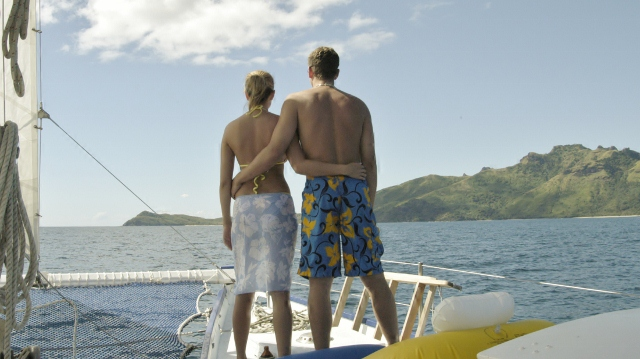Luxury yacht charter honeymoons