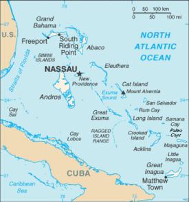 bahamas general information - MAP