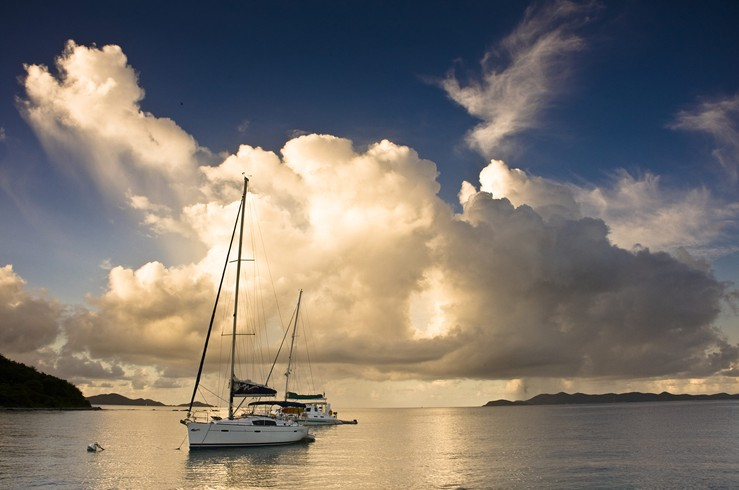 Sailboats In The Caribbean: Catamaran Yacht Charter Muse