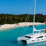 "catamaran charter boat ""Tranquility"