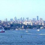 The Bosphorus Strait Instanbul