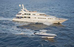 "Luxury motor yacht ""At Last"""