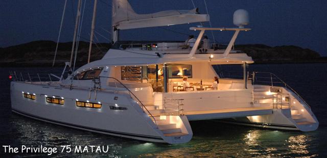 Luxury Catamaran Sailboat Discount Matau