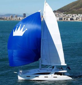 "luxury catamaran charter ""Kings Ransom"""