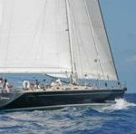 S/Y Pacific Wave sailing the Caribbean
