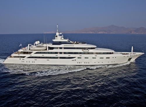 Mediterranean yacht charter OMEGA