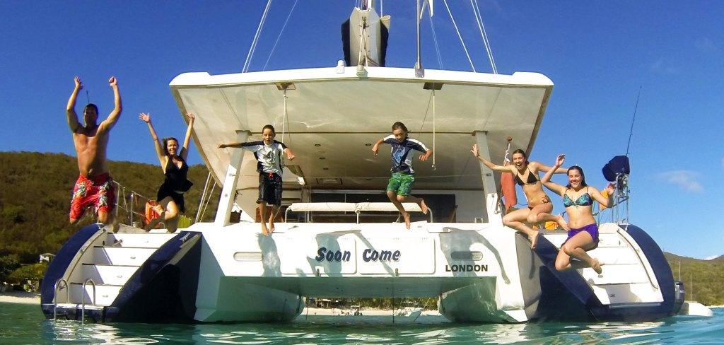 """Sailing Catamaran """"Soon COme"""""""