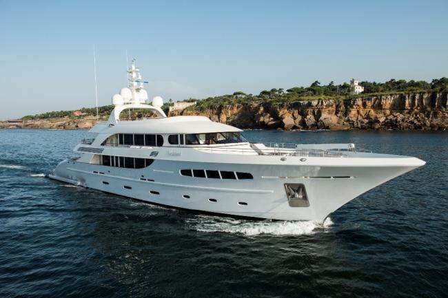 """Luxury yacht charter Mediterranean """"Nassima"""""""