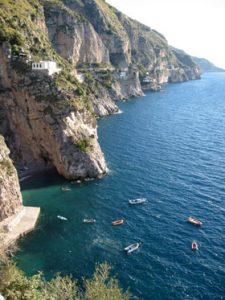 Amalfi Coast Italy. Mediterranean Power Catamaran Charter