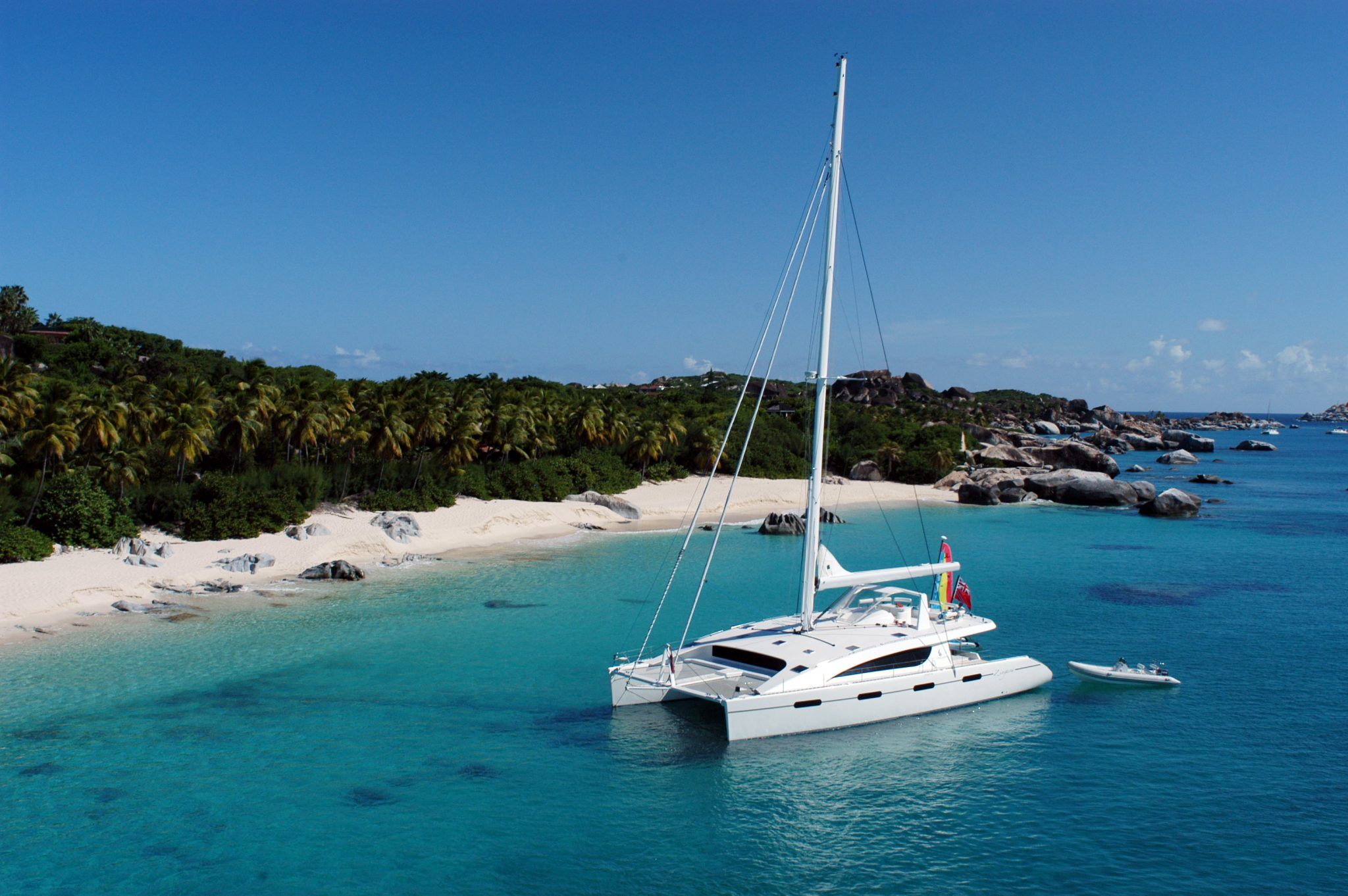 Sailboats In The Caribbean: Luxury Catamaran Charter Caribbean ZINGARA