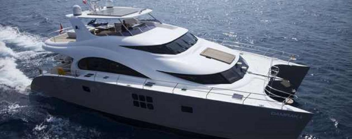 Power Catamarans Crewed Charters