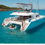 Blue Moon luxury charter catamaran