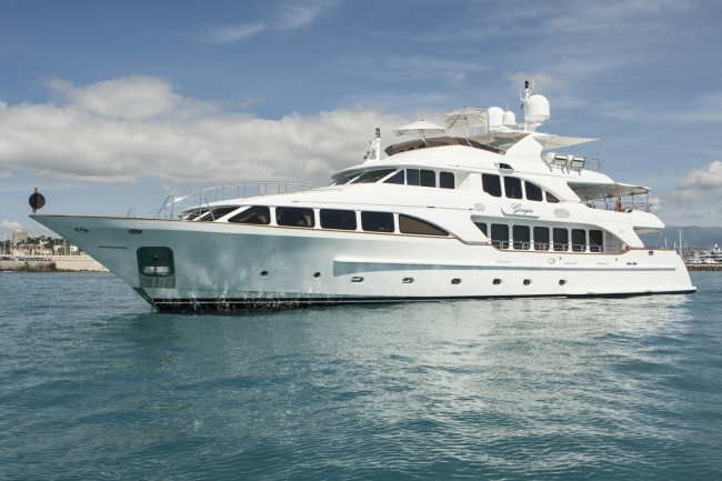 "Luxury yacht charter France ""Giorgia"""