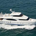 "Motor yacht charter ""Restless"""