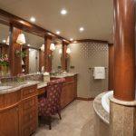 "Yacht charter Bahamas ""At Last"" Master Bathroom"