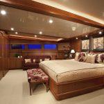 "Yacht charter Bahamas ""At Last"" Master Bedroom"