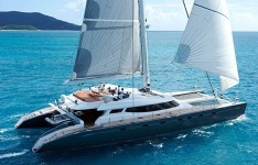 "Luxury Catamaran Charter France ""Allures"""