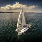 "Luxury catamaran charter ""Ocean View"". Sunreef yacht."