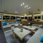 "Luxury Catamaran Charter ""Ocean View"" - Saloon"
