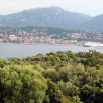 Coastline of Corsica. Propriano Corsica France.