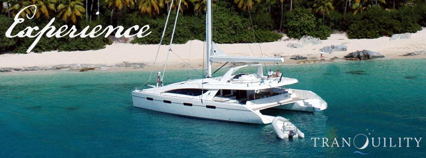 "BVI luxury catamaran charter ""Tranquility"""