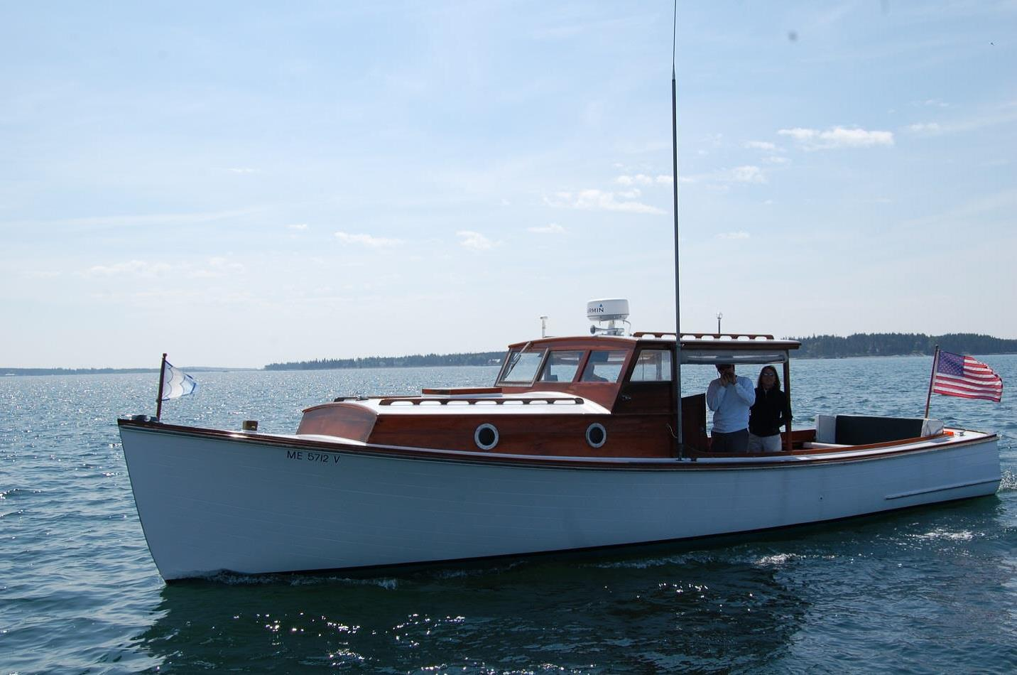 Boats yachts maine boats lobster boats picnic boats sailing - Mv Adequate Maine Built 60yearold Wooden Boat