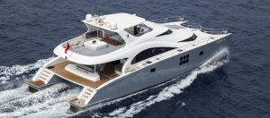 Mediterranean Power Catamaran Charter SKYLARK