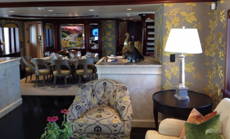 Luxury Motor Yacht SAFIRA - Salon & Dining