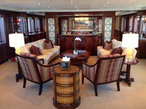 Motor Yacht Charter Bahamas and FLorida KATYA-Lounge