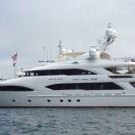 New England motor yacht charter KATYA