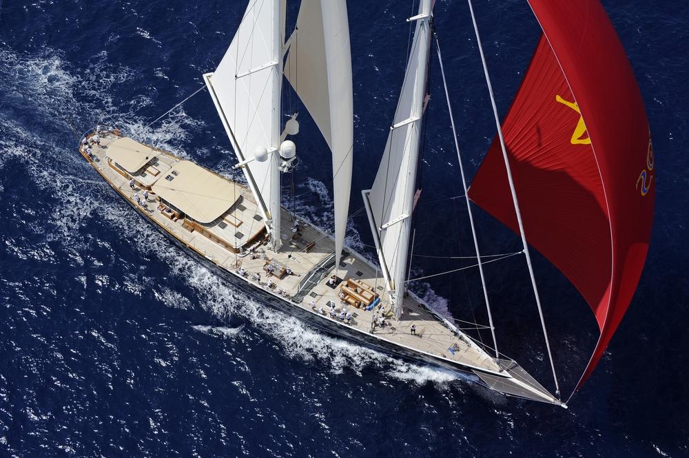 Sailing Yacht Athos.