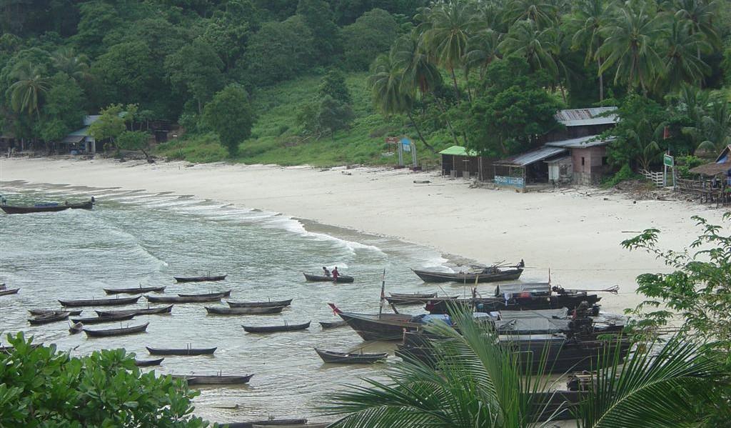 Moken Village Mergui Archipelago Burma