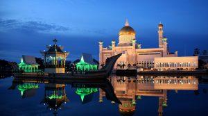 Brunei Yacht Charters - Sultan Omar Ali Saifuddin Mosque, Brunei