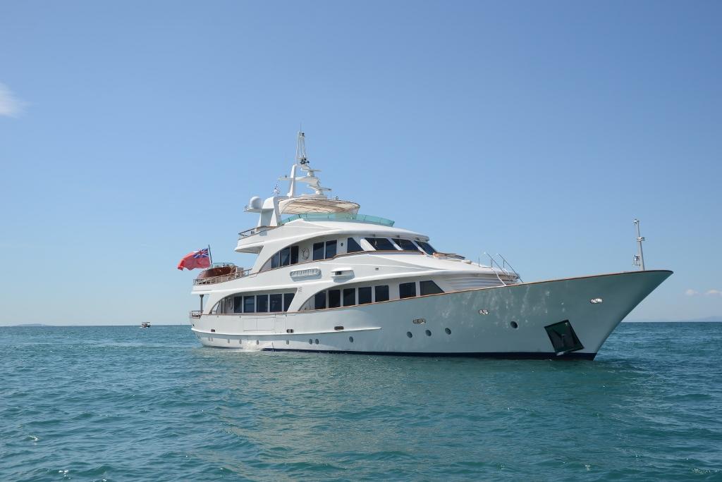 Luxury Motor Yacht Camellia. Cruising Ionian Islands, Greece
