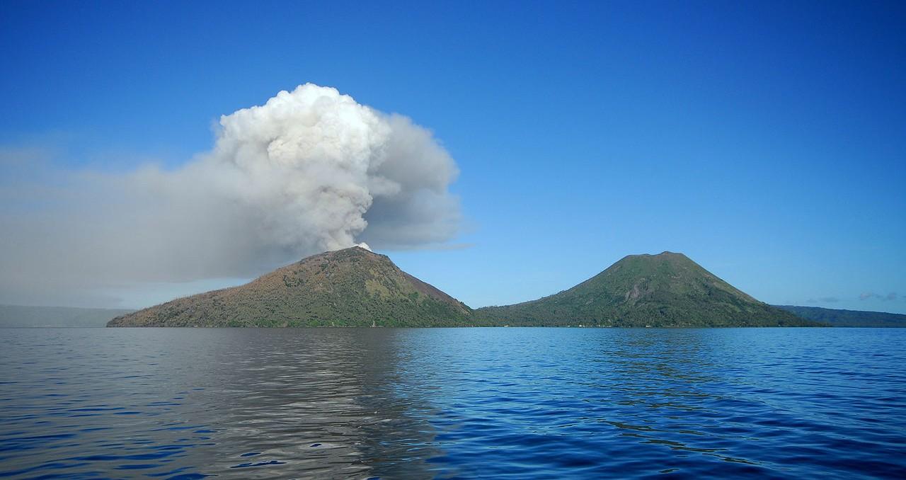 Mount Tarvurvur, Papa New Guinea