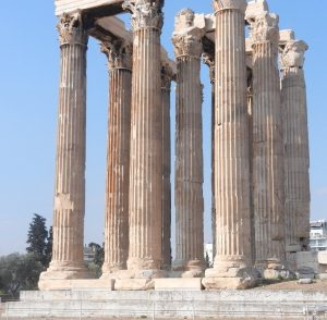 Temple of Zues. Athens, Greece