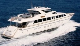 Caribbean motor yacht charter on FREEDOM
