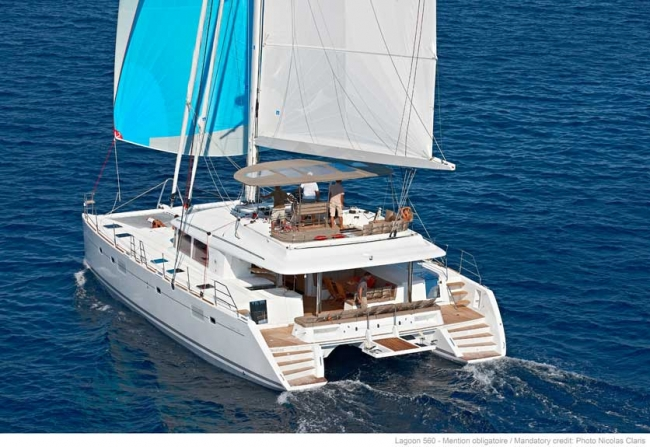 Virgin Islands New Years yacht charters, Catamaran - A2