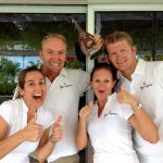 KIngs Ransom crew. 2014 BVI boat show