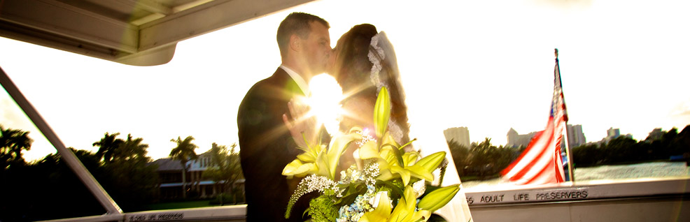 wedding yacht charter