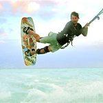 kiteboarding with catamaran Rocketeer