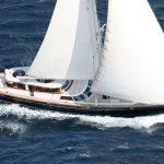Greece luxury yacht charter GITANA