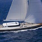 Greece luxury yacht charter ALLURE.