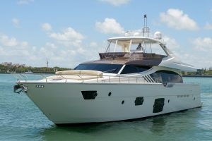 "2013 87 Ferretti ""Hot Mess"""