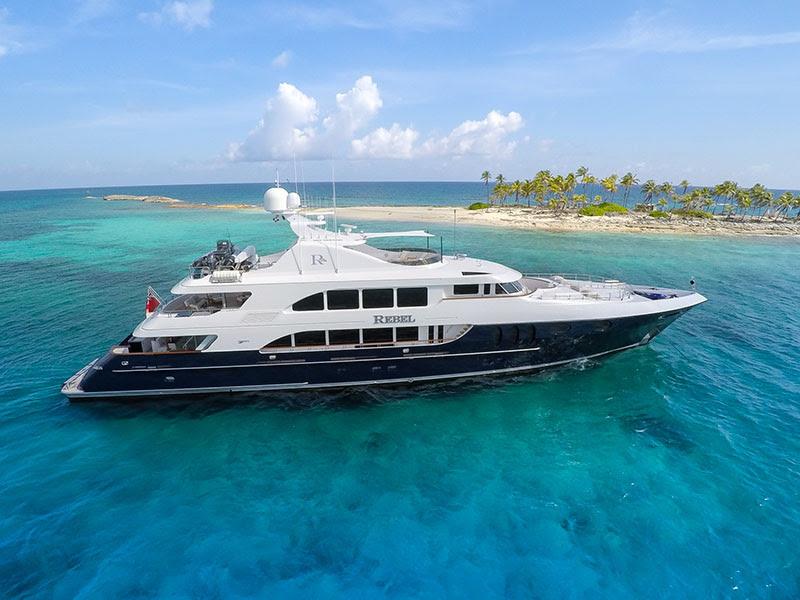 Caribbean Motor Yacht Charter Special REBEL - CKIM Group
