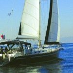 Luxuy sailing yacht Sofia Star1. Greece sailboat charter