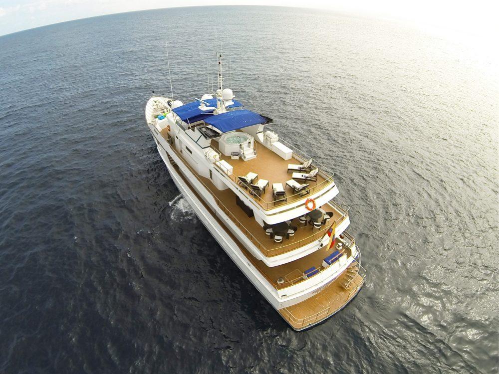 Galapagos Islands yacht charter Stella Maris