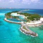 Blue Lagoon Island in the Bahamas