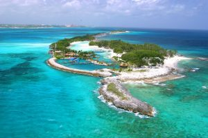 Blue Lagoon Island see it on your Bahamas Yacht Charter