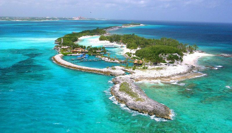 Blue Lagoon Island in the Bahamas